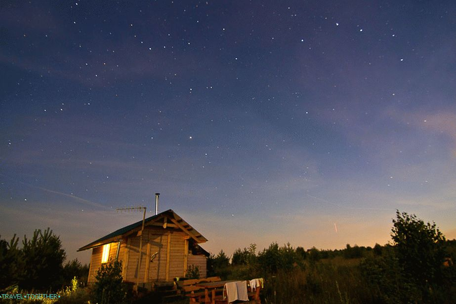 Settlement Glorious, Moscow region. ISO800, 11mm, f2.8, 30sec