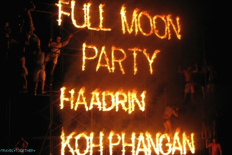 Full Moon Party na Koh Phanganu