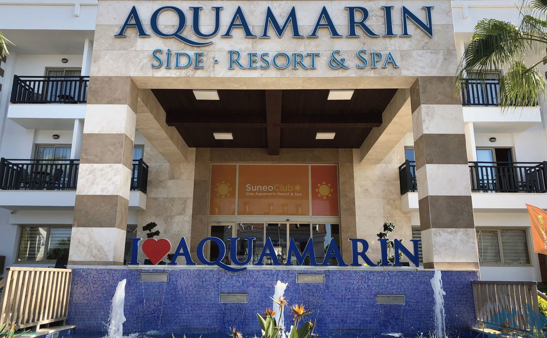 Aquamarin Side 5 Stars