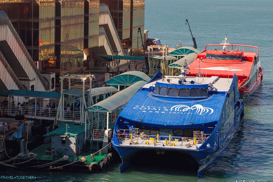 Ferry Hong Kong-Macau
