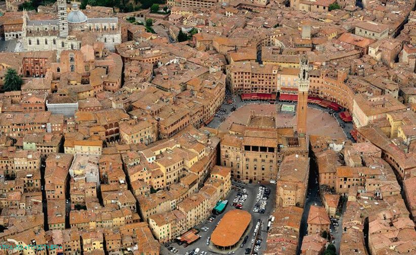 Siena's Medieval Historical Center